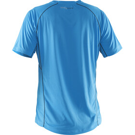 Salming Team Camiseta Running Hombre, cyan blue